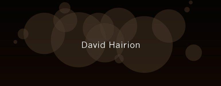 David Hairion, à Maussane-les-Alpilles et au Paradou